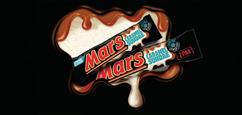 Mars Caramel Sundae Limited Edition