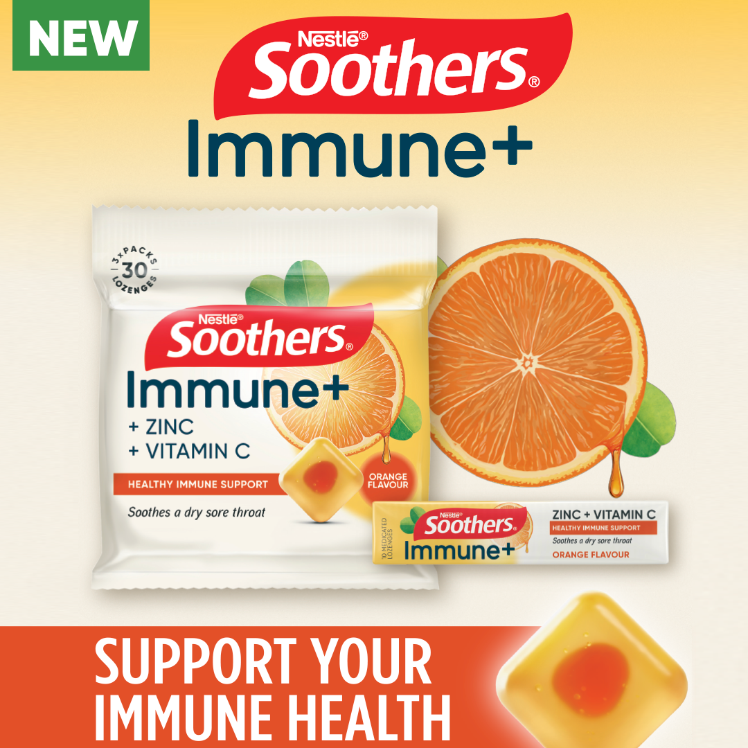Soothers Immune+