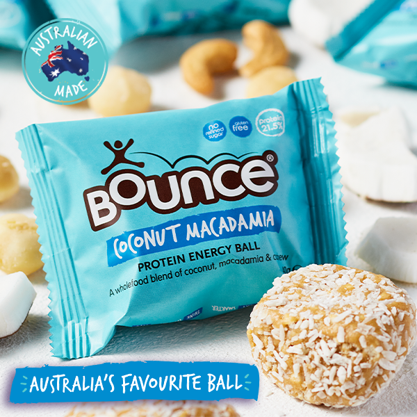 Bounce Coconut Macadamia Protein Ball